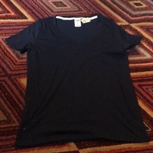 Pink by Victoria Secrets V Neck Tee Size Large NWT